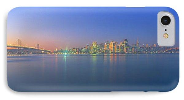 Bay Bridge & San Francisco IPhone Case by Panoramic Images