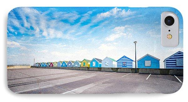Beach Huts IPhone Case by Svetlana Sewell