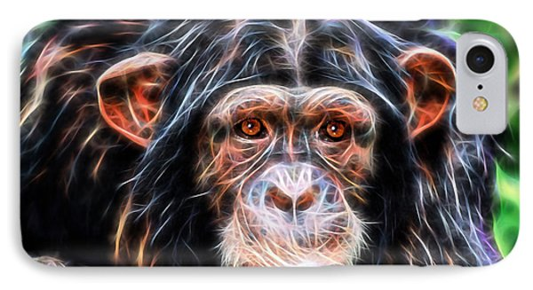 Chimpanzee Collection IPhone Case by Marvin Blaine