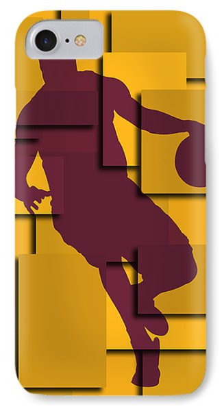 Cleveland Cavaliers Lebron James IPhone 7 Case by Joe Hamilton