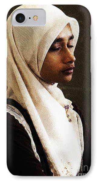 Deep In Thought Phone Case by Avalon Fine Art Photography