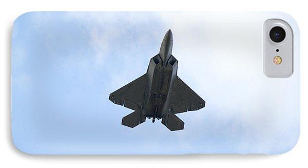 F-22 Raptor IPhone Case by Sebastian Musial