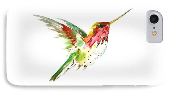 Flying Hummingbird IPhone 7 Case by Suren Nersisyan