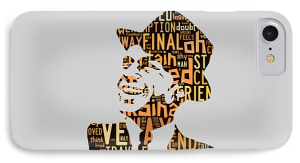 Frank Sinatra I Did It My Way IPhone Case by Marvin Blaine