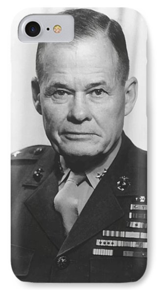 General Lewis Chesty Puller IPhone Case by War Is Hell Store