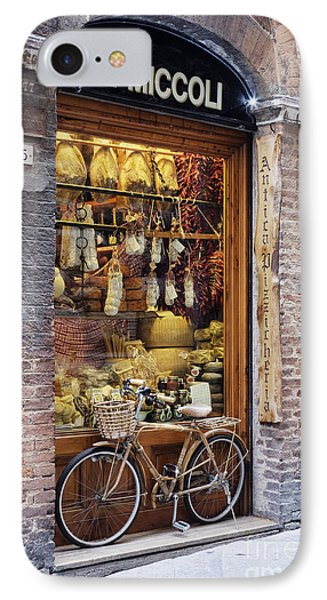 Italian Delicatessen Or Macelleria IPhone Case by Jeremy Woodhouse