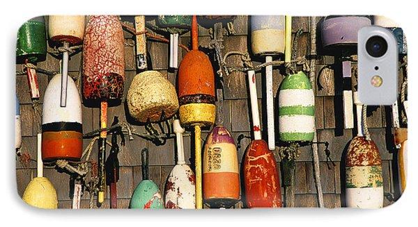 Lobster Buoys. IPhone Case by John Greim
