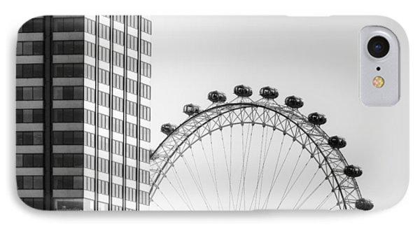 London Eye IPhone Case by Joana Kruse