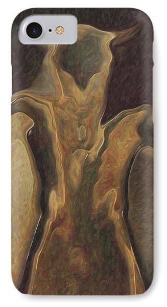 Minotaur  IPhone 7 Case by Quim Abella