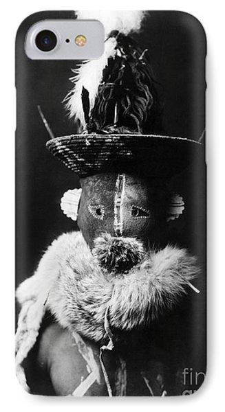 Navajo Mask, C1905 Phone Case by Granger