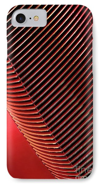 Red Classic Car Details IPhone Case by Oleksiy Maksymenko