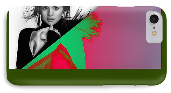 Selena Gomez Collection IPhone Case by Marvin Blaine