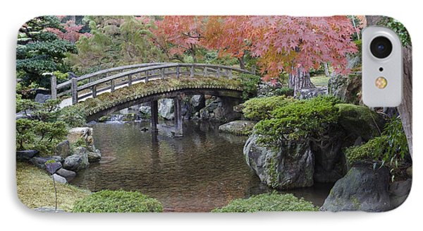 Sento Imperial Palace Gardens Lake IPhone Case by Rob Tilley