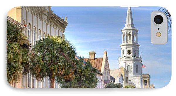 St Michaels Church Charleston Sc Phone Case by Dustin K Ryan