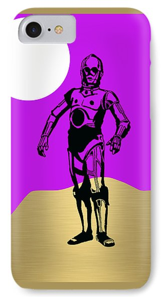 Star Wars C-3po Collection IPhone Case by Marvin Blaine