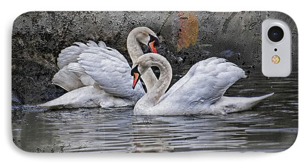 Tango Of The Swans IPhone Case by Joachim G Pinkawa
