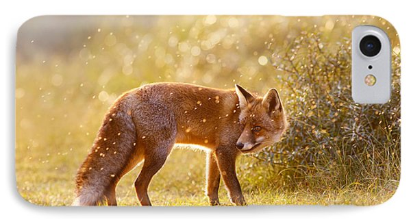 The Fox And The Fairy Dust IPhone 7 Case by Roeselien Raimond