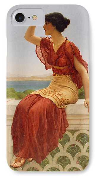The Signal IPhone Case by John William Godward