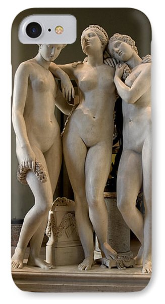 The Three Graces Phone Case by Carl Purcell