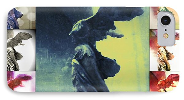 The Winged Victory - Paris - Louvre IPhone Case by Marianna Mills