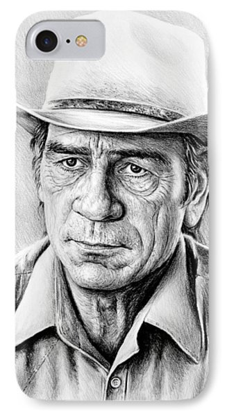 Tommy Lee Jones IPhone Case by Andrew Read