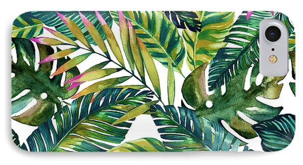 Tropical  IPhone 7 Case by Mark Ashkenazi
