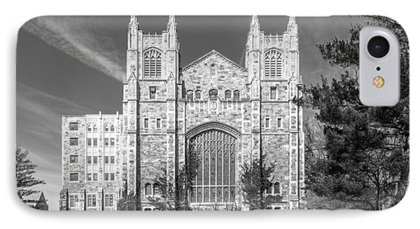 University Of Michigan Law Library IPhone Case by University Icons