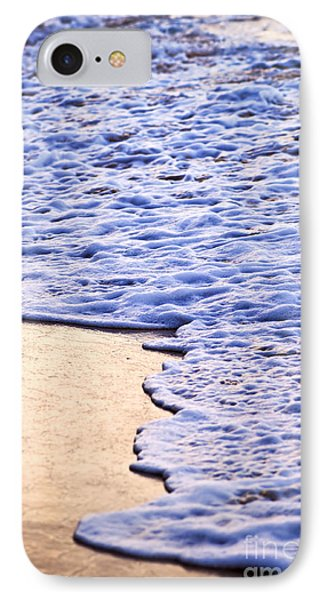 Waves Breaking On Tropical Shore Phone Case by Elena Elisseeva