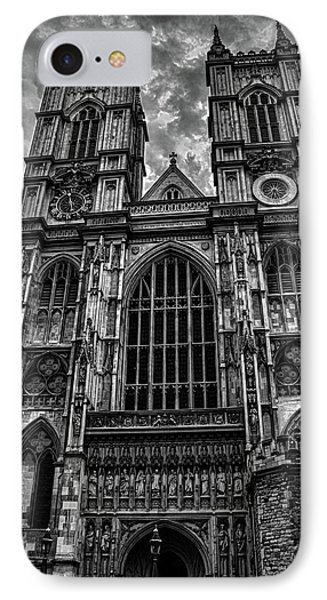 Westminster Abbey IPhone 7 Case by Martin Newman