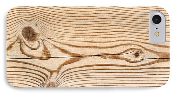 Wood Texture IPhone Case by Tom Gowanlock
