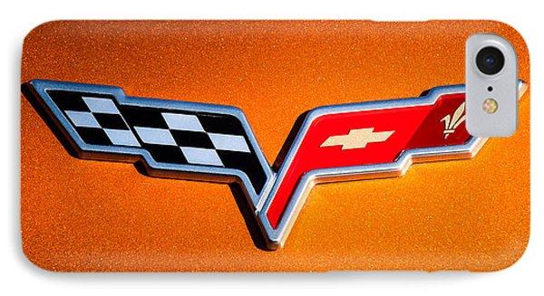 2007 Chevrolet Corvette Indy Pace Car -0301c IPhone Case by Jill Reger