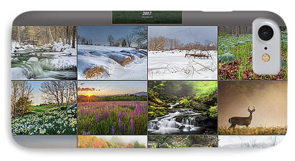 2017 Calendar IPhone Case by Bill Wakeley