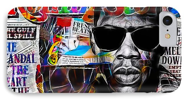 Jay Z Collection IPhone Case by Marvin Blaine