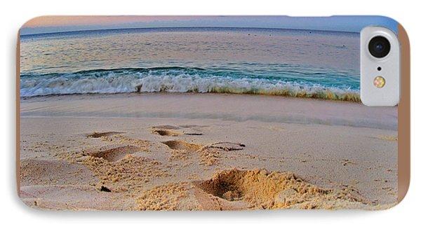 Beach Texture. La Romana. Dominican Republic. IPhone Case by Andy Za