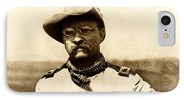 Colonel Theodore Roosevelt IPhone Case by War Is Hell Store