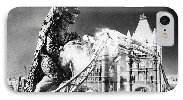 Godzilla Phone Case by Granger