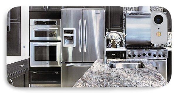 Modern Kitchen Interior Phone Case by Skip Nall