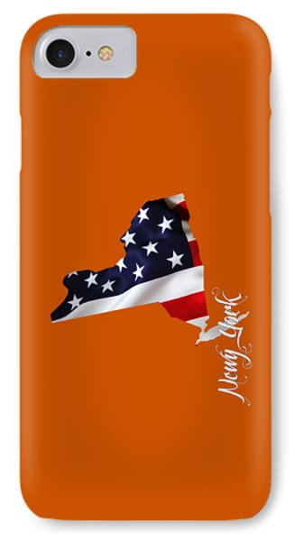 New York Map Collection IPhone Case by Marvin Blaine