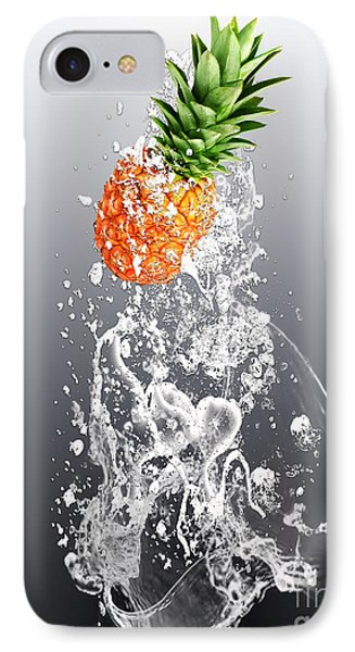 Pineapple Splash IPhone Case by Marvin Blaine