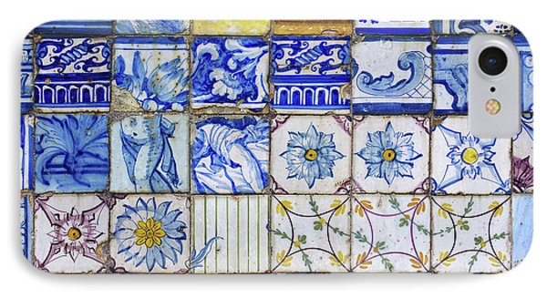 Portuguese Tiles IPhone Case by Carlos Caetano