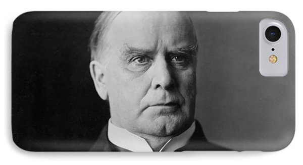 President William Mckinley IPhone Case by War Is Hell Store
