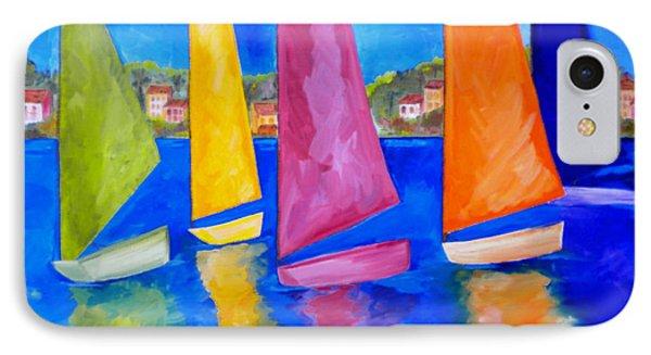 Reflections Of Tortola IPhone Case by Patti Schermerhorn