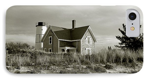 Sandy Neck Lighthouse Phone Case by Charles Harden