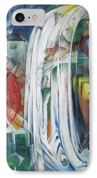 The Bewitched Mill IPhone Case by Franz Marc