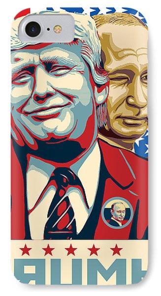 Trump Pop Art IPhone Case by Uri Uri