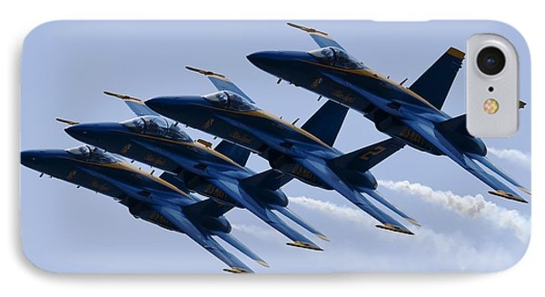 Us Navy Blue Angels Poster IPhone Case by Dustin K Ryan