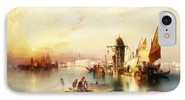 Venice IPhone Case by Thomas Moran