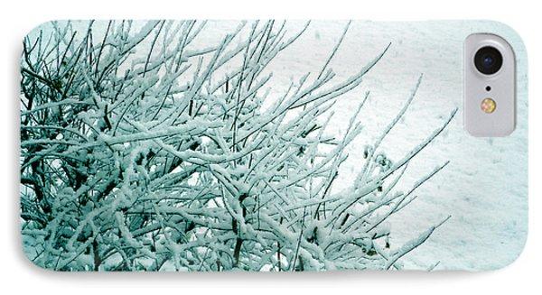 Winter Wonderland In Switzerland IPhone Case by Susanne Van Hulst