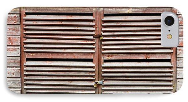 Wooden Doors IPhone Case by Tom Gowanlock
