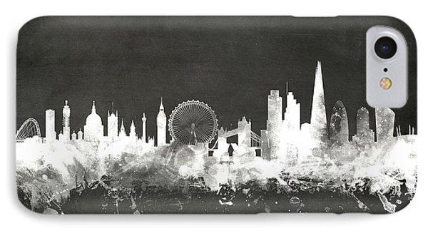 London England Skyline IPhone 7 Case by Michael Tompsett
